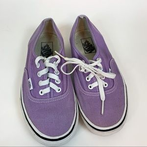 Vans Purple Shoes